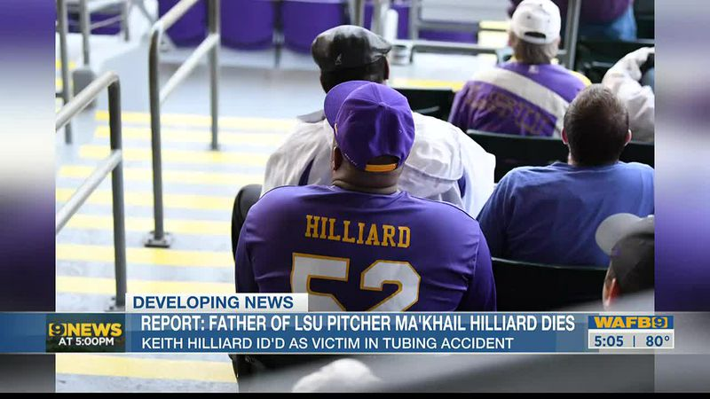 Keith Hilliard is the father of LSU pitcher Ma'Khail Hilliard.