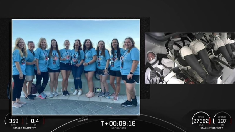 Hayley Arceneaux family & friends describe front row seat to Inspiration 4 launch