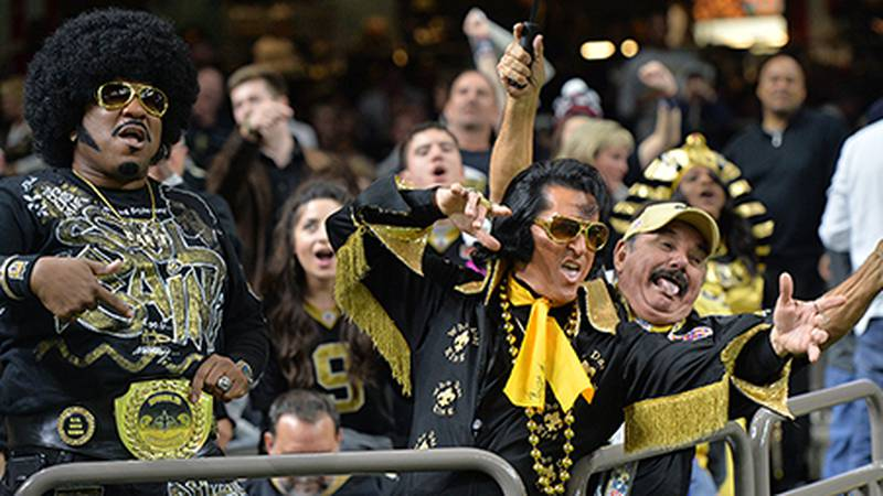 New Orleans Saints host the Atlanta Falcons on Thanksgiving Night in the Superdome. (Source:...