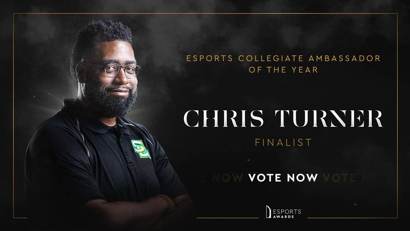 Southern University Esports Head Coach, Chris Turner has been selected as a finalist in the...