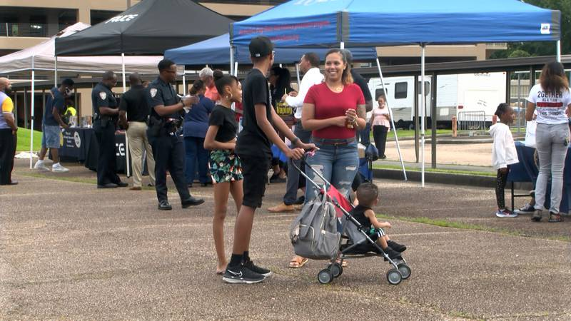 The Baton Rouge Police Department hosted National Night Out Against Crime on Aug. 3, 2021.