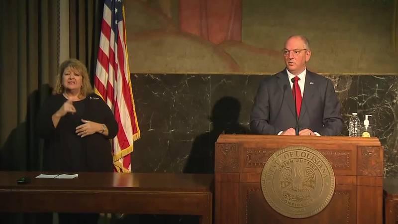 Gov. John Bel Edwards says he will join Pres. Joe Biden in Lake Charles on Thursday, May 6.
