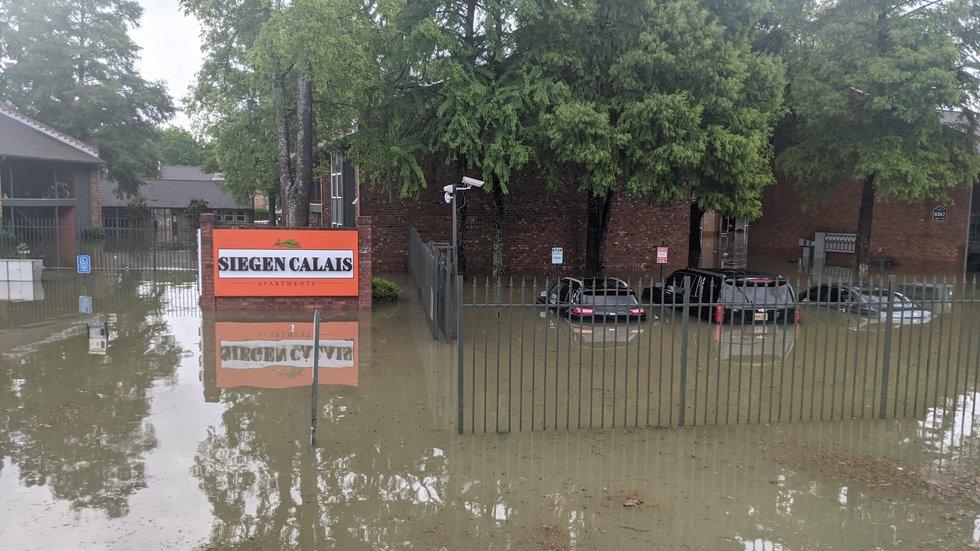 Siegen Lane flooding