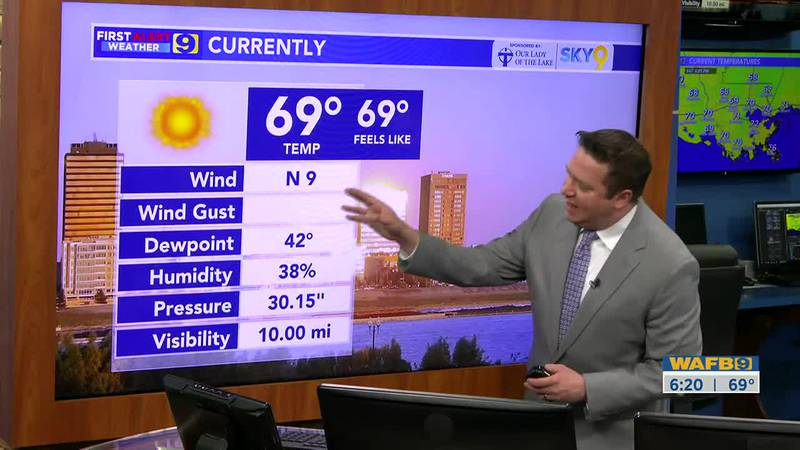 9News at 6 weather October 16, 2021