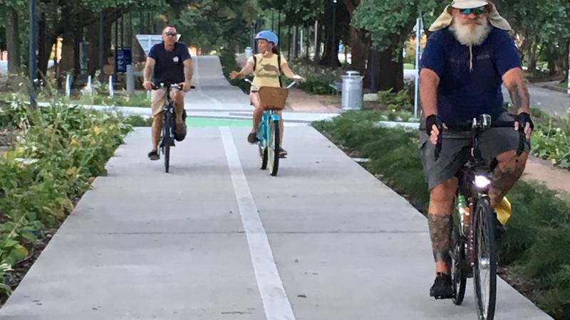Bike advocates are hoping to get more bike lanes and sidewalks installed in Baton Rouge.