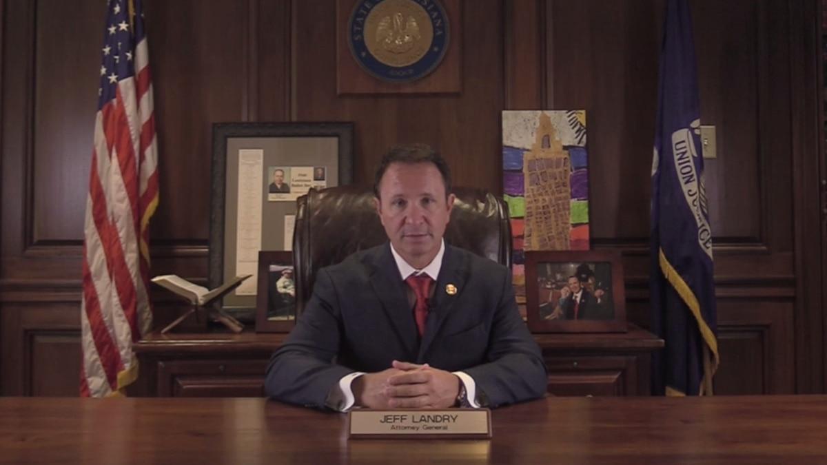 Louisiana Attorney General Jeff Landry