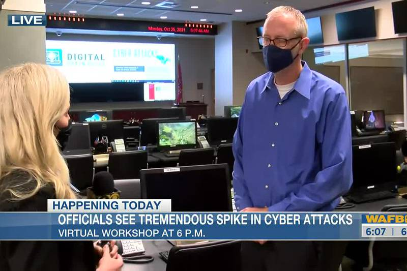 Officials see tremendous spike in cyber attacks