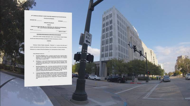 Attorneys representing Darlene Franklin have filed a lawsuit against Bob Dean and the Louisiana...