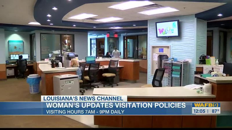 Woman's Hospital updates visitation policy for patients
