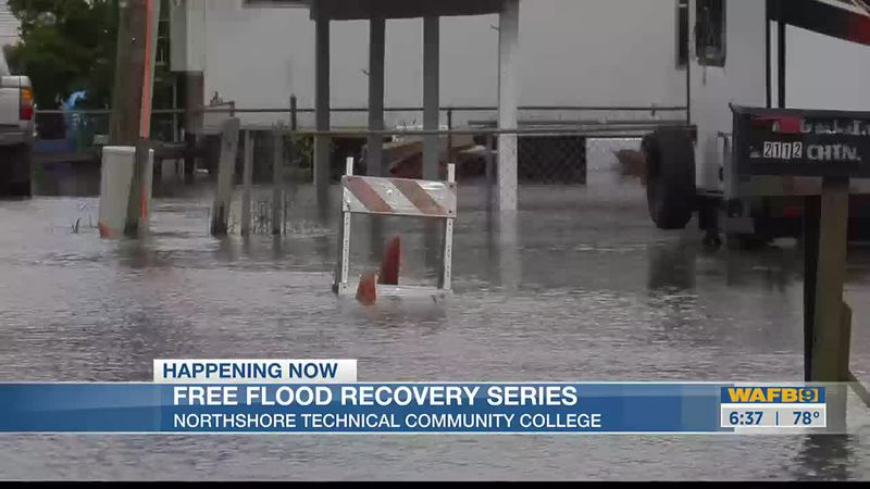 Free flood recovery series being held at NTCC in Livingston Parish