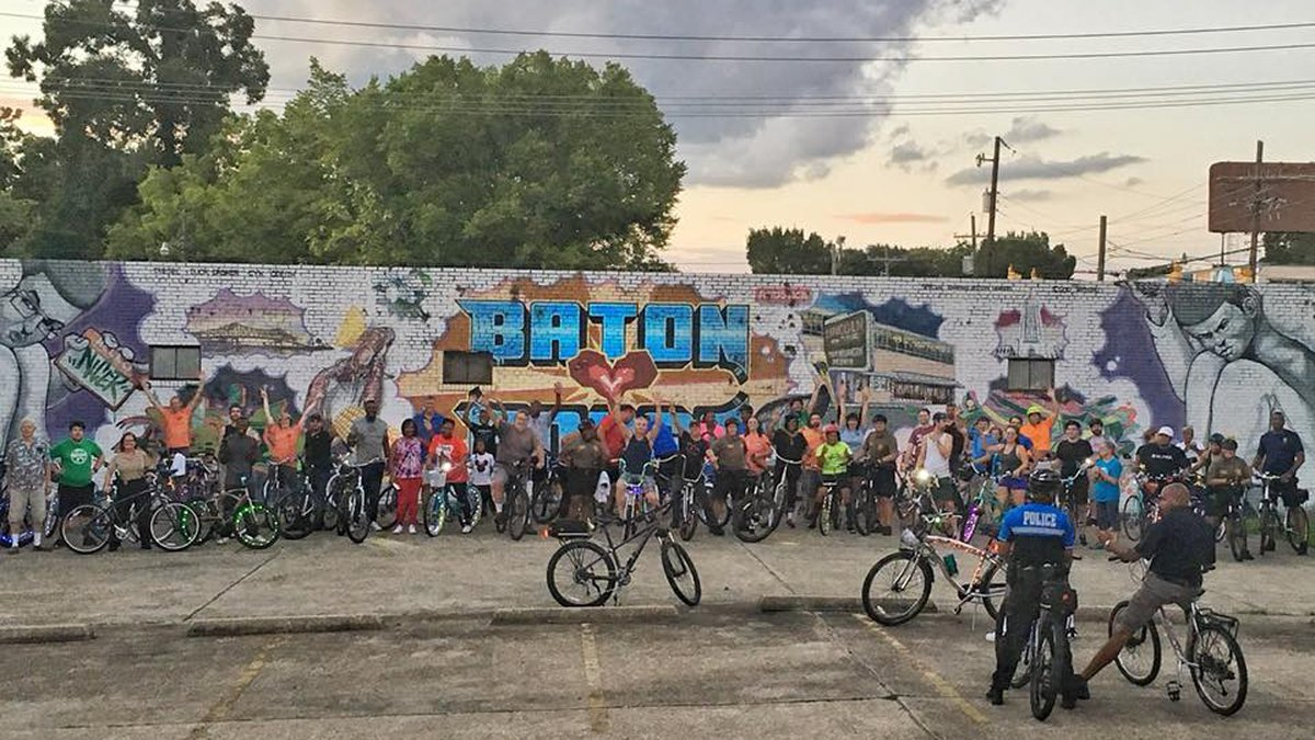 More than 50 riders participated in Mayor Broome's Move with the Mayor Capital Heights Social...