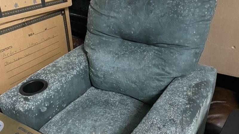 Overland says he's lost thousands of dollars worth of furniture due to mold and mildew
