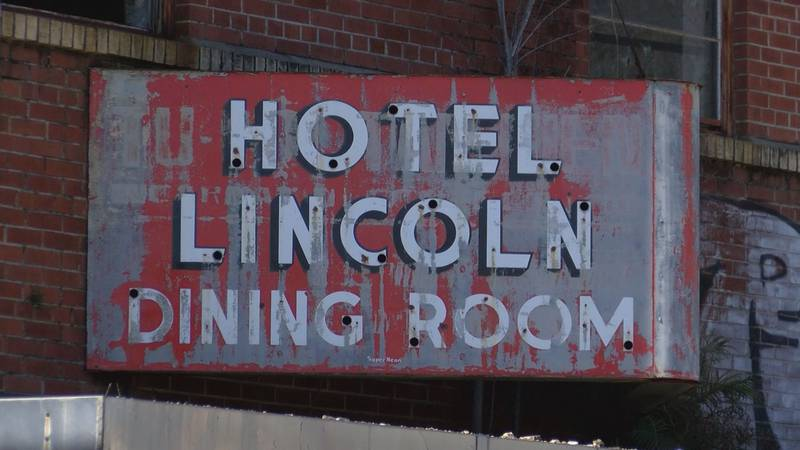 A group of young entrepreneurs are working to restore the Hotel Lincoln.