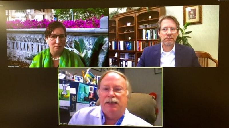 Tulane experts involved in coronavirus research discuss efforts to develop treatments and a...