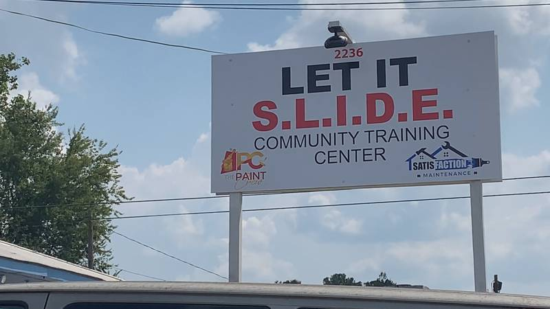 Let It S.L.I.D.E. is located on North Foster Drive in Baton Rouge.