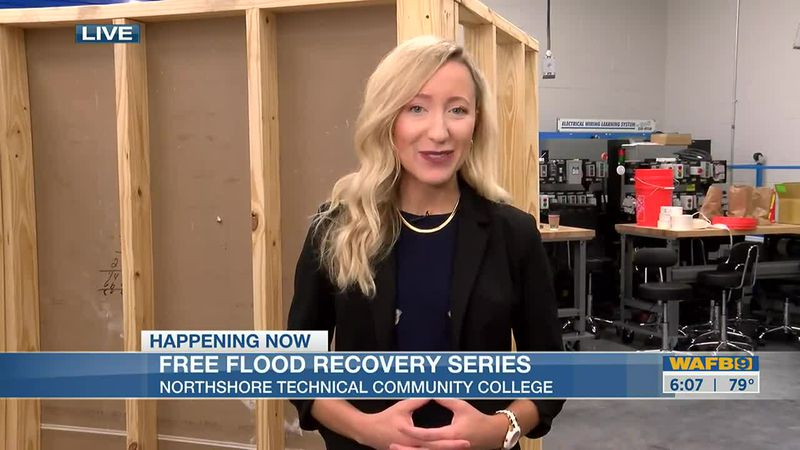 NTCC holding flood recovery series