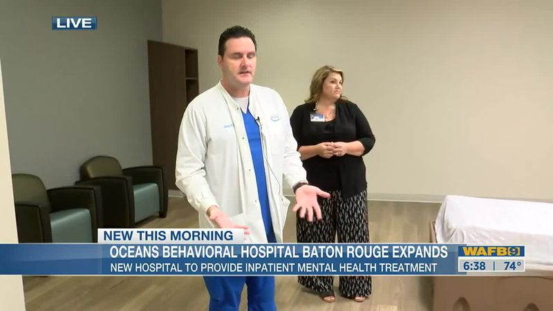 Oceans Hospital in BR providing inpatient mental health treatment