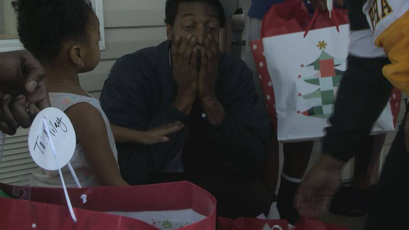 Christmas was looking bleak for the Sheppard family, until you (the Baton Rouge Community)...