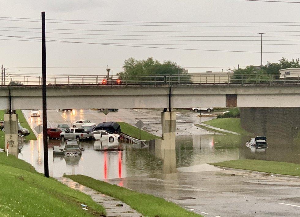 flooding on Bluebonnet