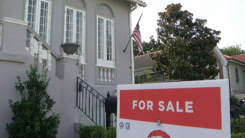 Real estate professionals say homes are going fast but commercial properties are not.