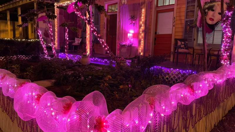 """The """"Pretty in Pink"""" Spanish Town Reverse Parade will roll Saturday, Feb. 13."""