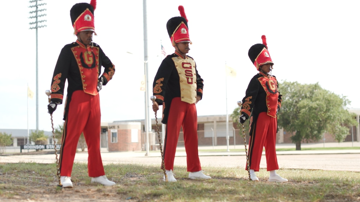Deante Gibson, Candace Hawthorne, and Sheavion Jones have been named drum majors at Grambling.