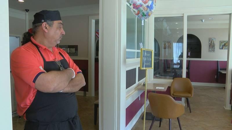 Eman Qasim owns Kabob's Greek Lebanese Restaurant on George O'Neal. He says the restaurant...