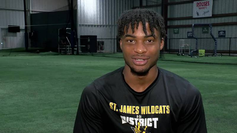 St. James WR Shazz Preston working for a Wildcats repeat in 2020