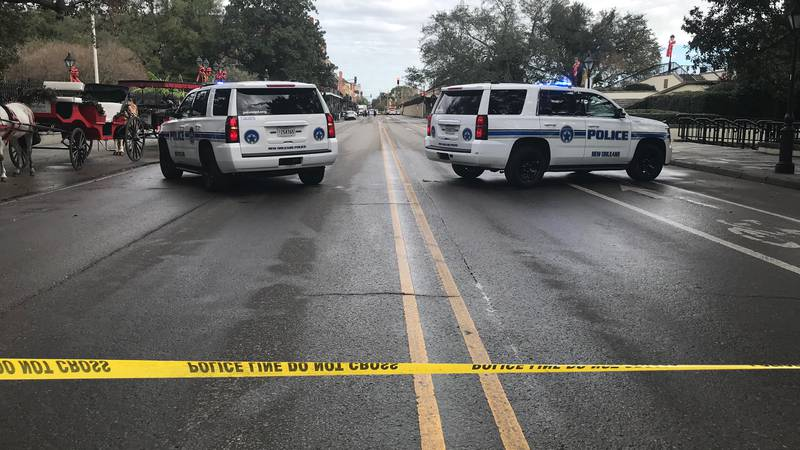 The incident is being investigated near the intersection of St. Ann Street and Decatur Street.