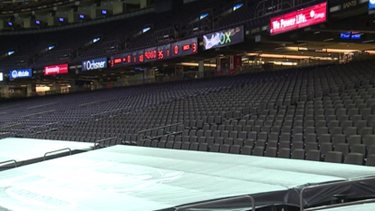 The Saints opened the 2020 NFL season in the Superdome against Tampa Bay with no one in the...