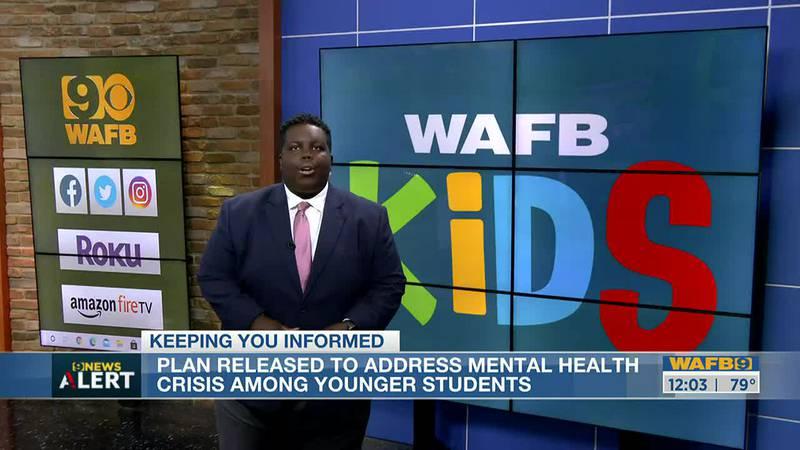 Plan to address mental health among kids