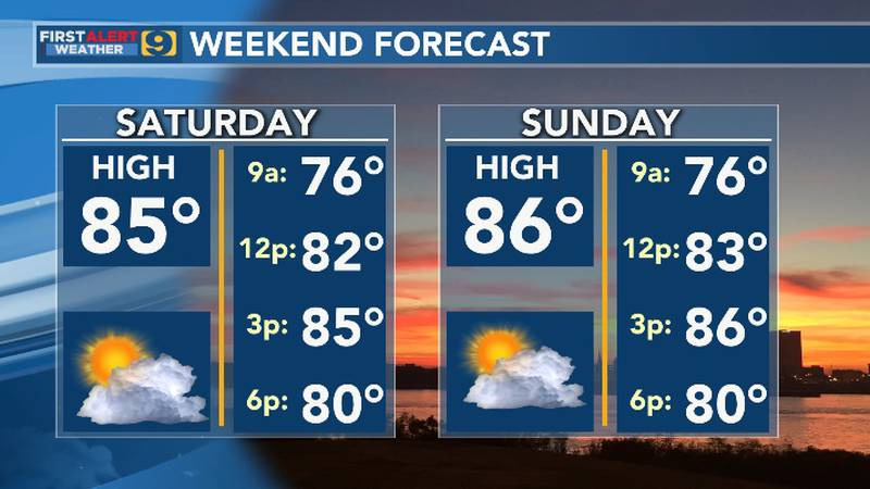FIRST ALERT FORECAST: Saturday, May 22