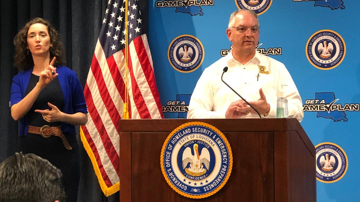 Louisiana Governor John Bel Edwards extends the state's stay-at-home order until May 15, 2020.