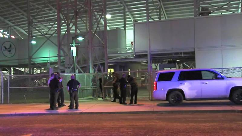 At least four people were shot outside of a high school football game in Mobile. (Source: WPMI...