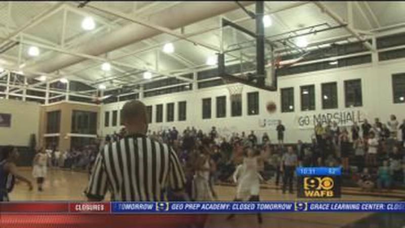 Girls high school basketball playoff action: February 22 - 10 p.m.