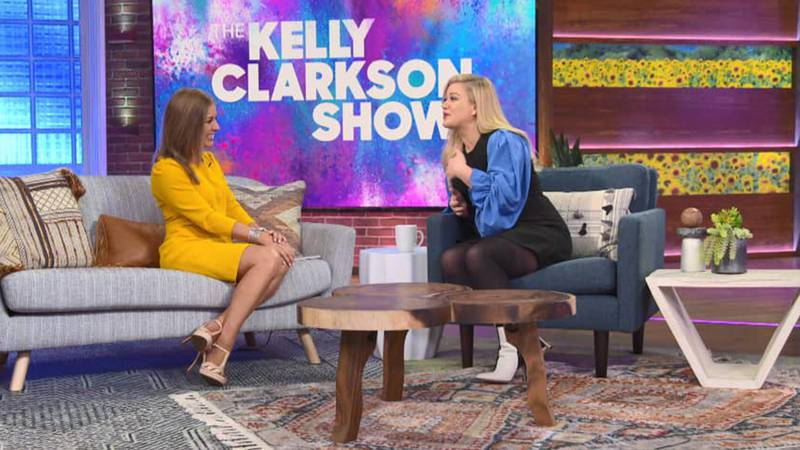 WAFB's Lauren Westbrook met with Kelly Clarkson in Los Angeles ahead of her new show airing on...
