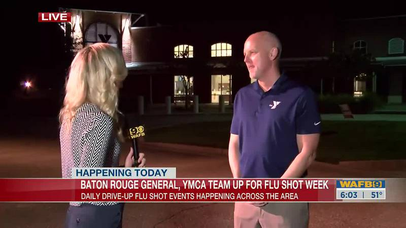 Drive-up flu shot events happening across the area this week