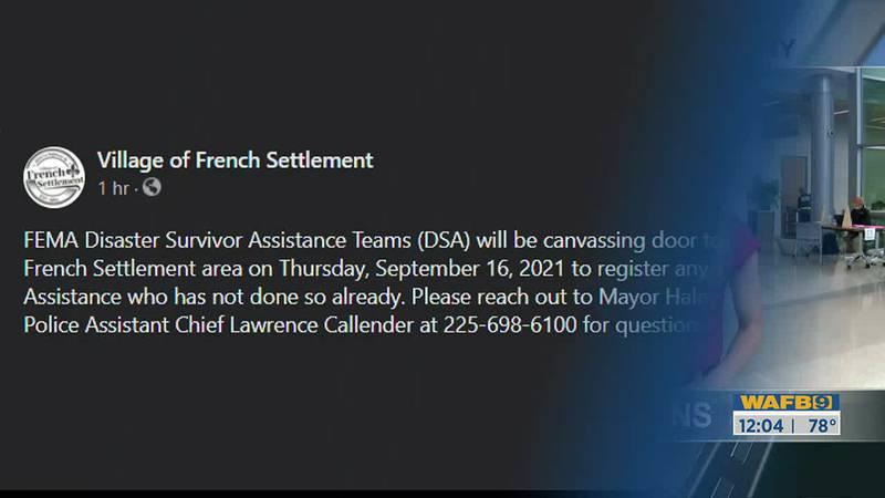 Fema in French Settlement