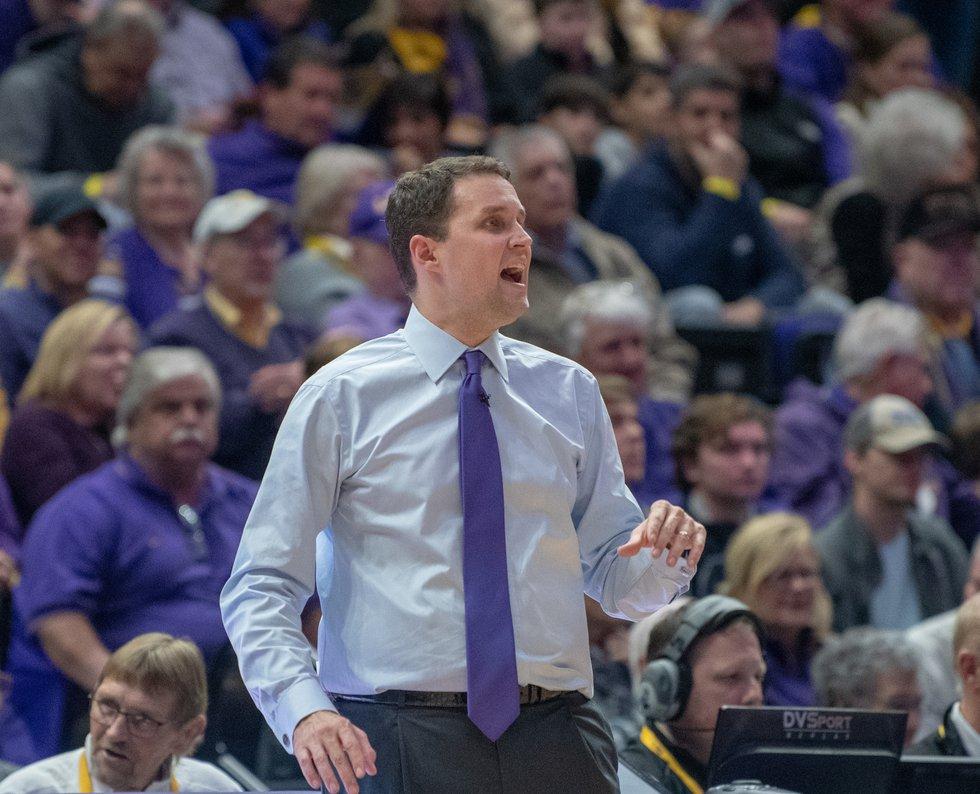 LSU head coach Will Wade