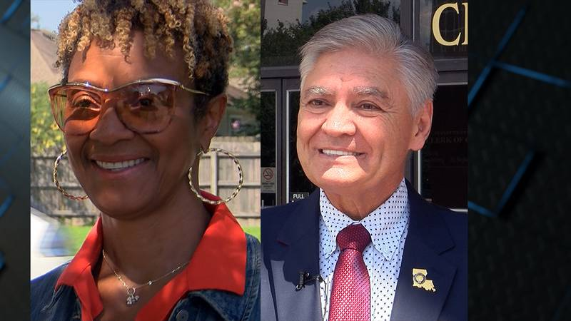 Donna Collins-Lewis and Doug Welborn are both running for East Baton Rouge clerk of court.