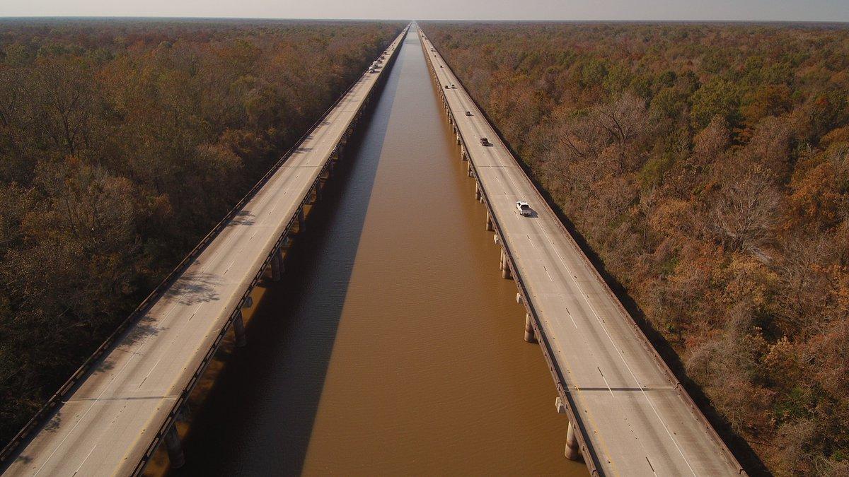 WAFB FILE PHOTO of the Atchafalaya Basin Bridge