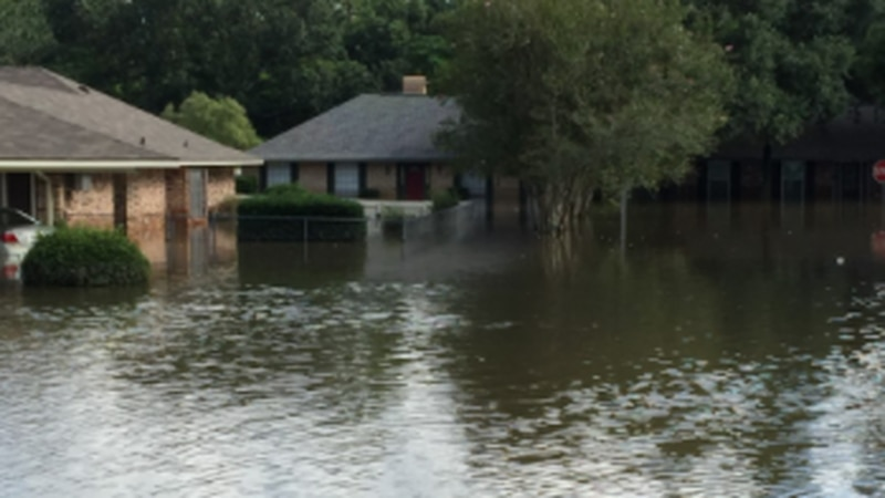Flooded home from 2016.