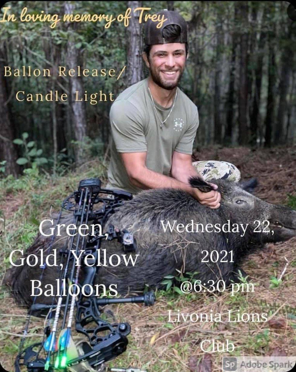 vigil for Trey Allen on Wednesday