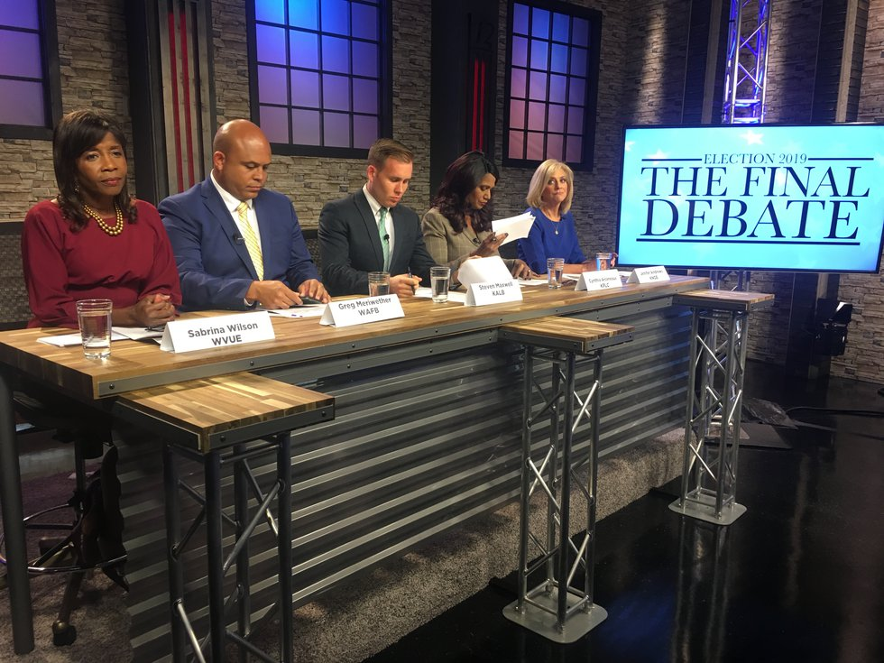WAFB's Greg Meriwether is on the panel for the final gubernatorial debate.