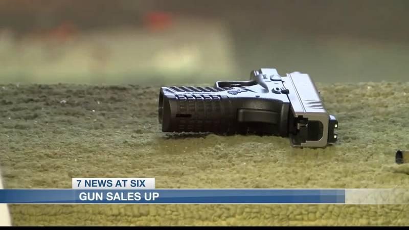 Topic of gun control causes increased gun sales