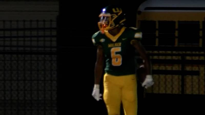 Walker wide receiver Ja'Cory Thomas (6)