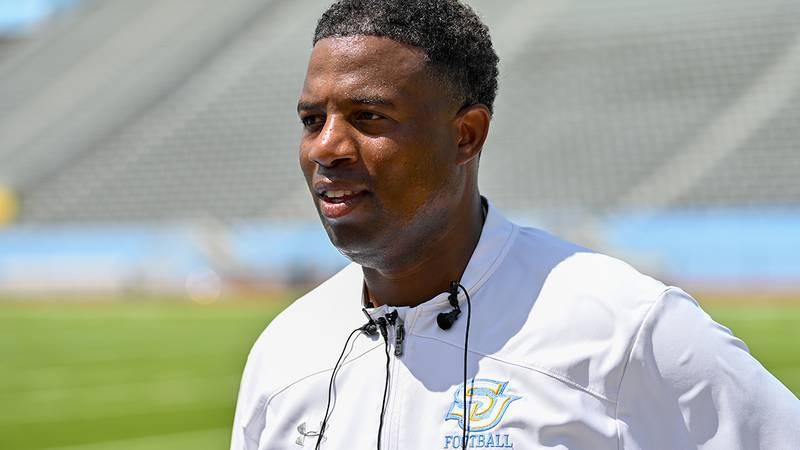 Southern interim head coach Jason Rollins