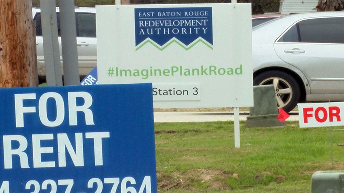 """The East Baton Rouge Redevelopment Authority hosted """"Walk the Plank,"""" where leaders and..."""