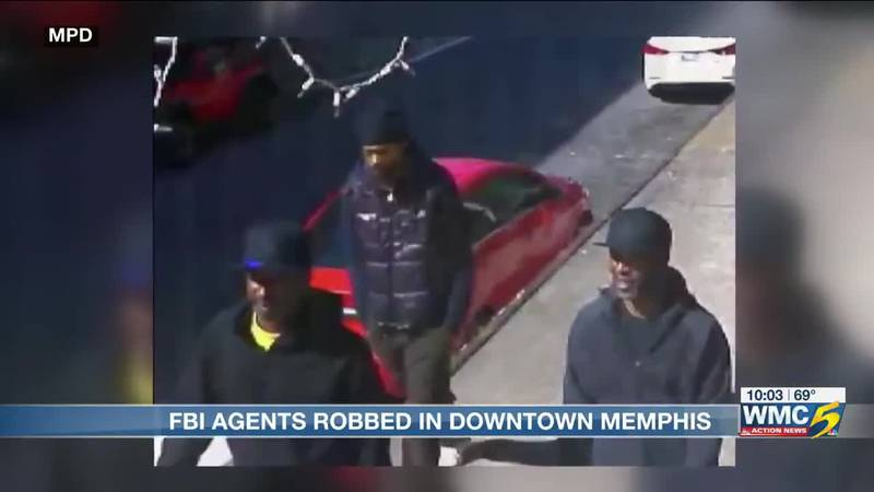 Suspects wanted for robbing FBI special agents (Source: WMC)