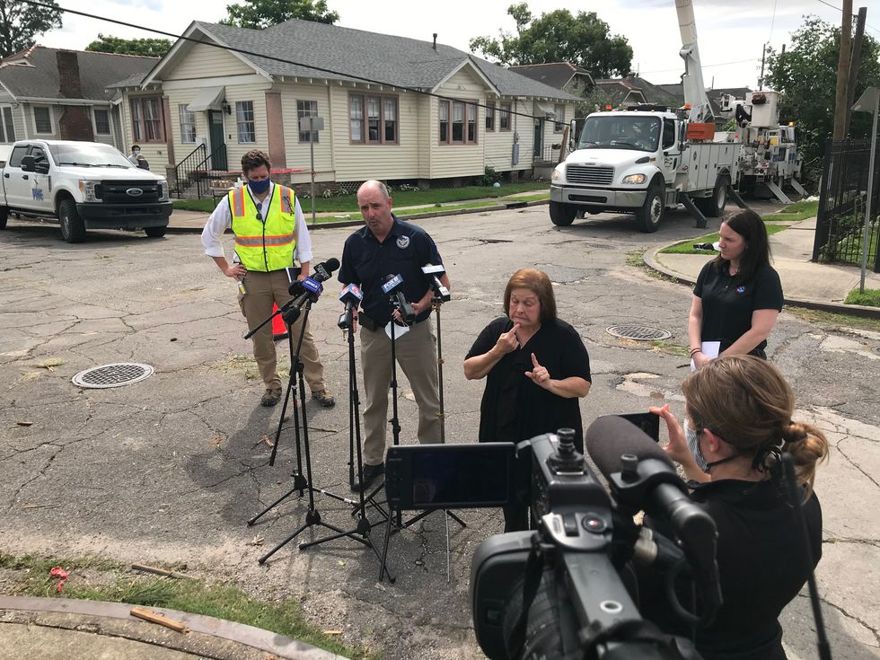 The National Weather Service confirmed an EF0 tornado touched down in New Orleans on May 12...